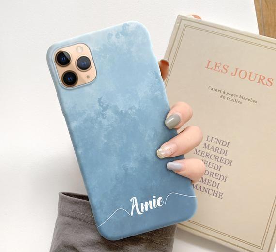 Blue custom Samsung Galaxy s9 plus case Samsung galaxy s10e | Etsy