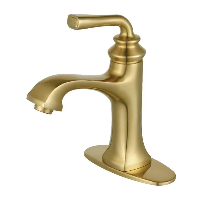 Circular X Brass Single Hole Bathroom Faucet Kbf1010 Contemporary Bathroom Sink Fa In 2021 Gold Bathroom Faucet Bathroom Faucets Contemporary Bathroom Sink Faucets