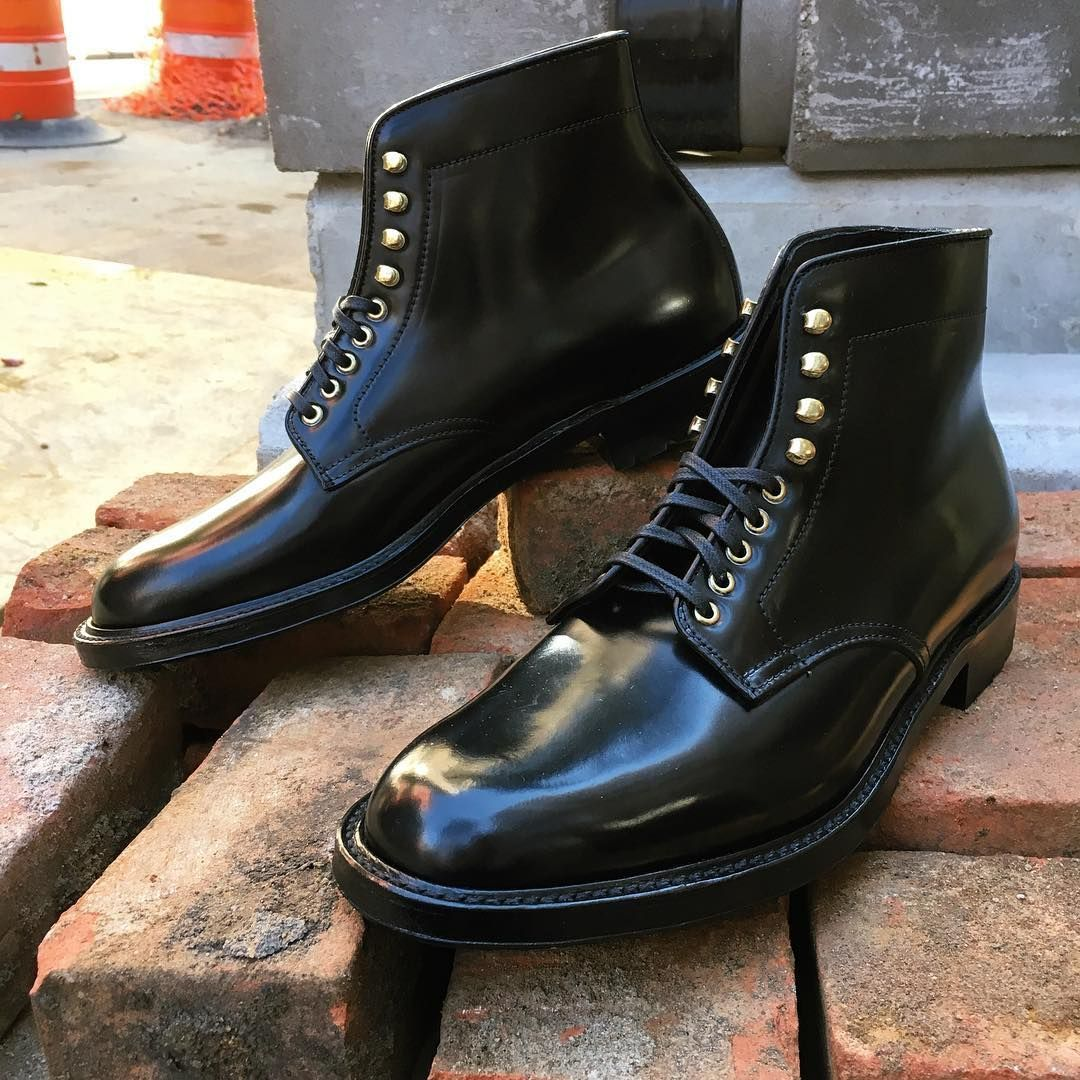 a029ab69690e Our Alden x Leffot PT boot in black shell cordovan is a versatile as it is  handsome.