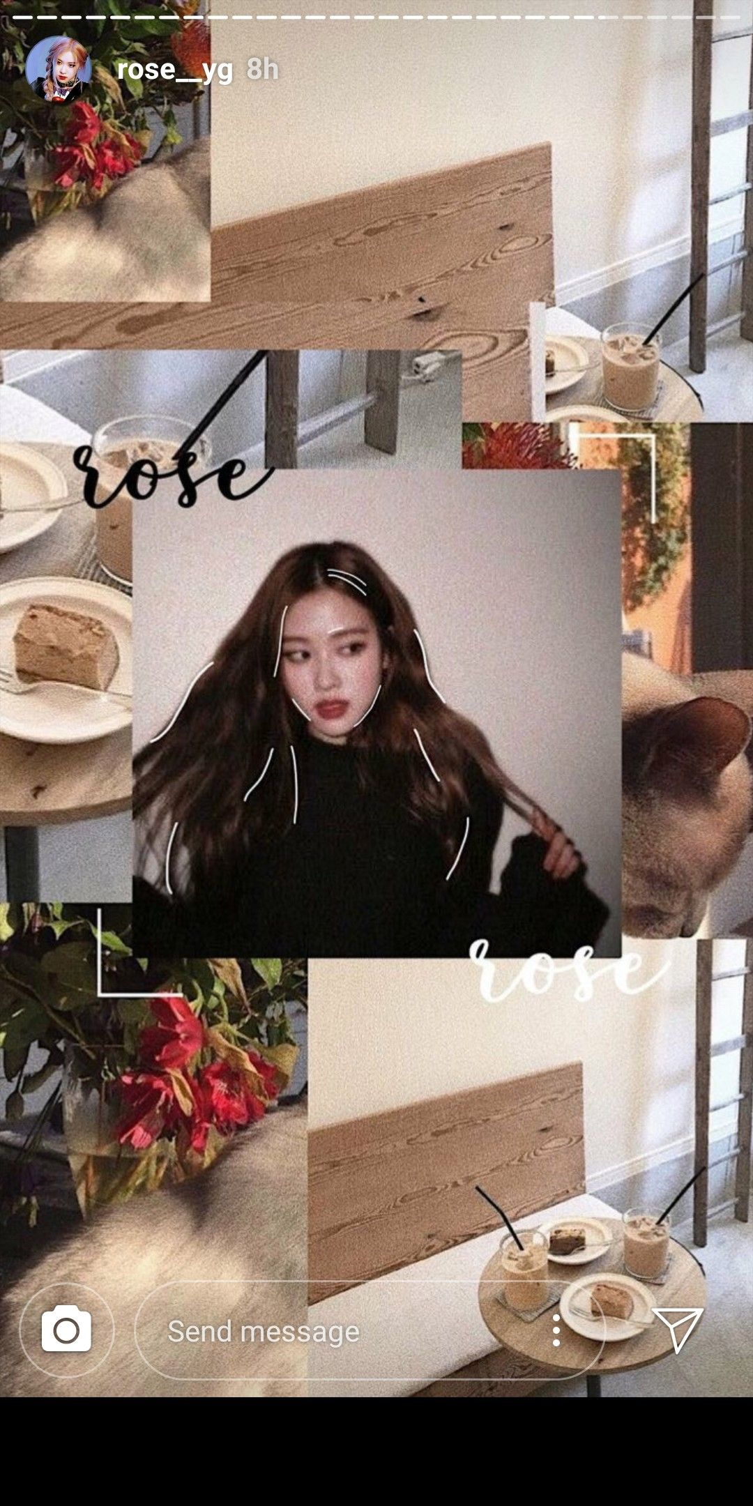 Pin by Cristinamgonzalezm on BLACKPINK Aesthetic roses
