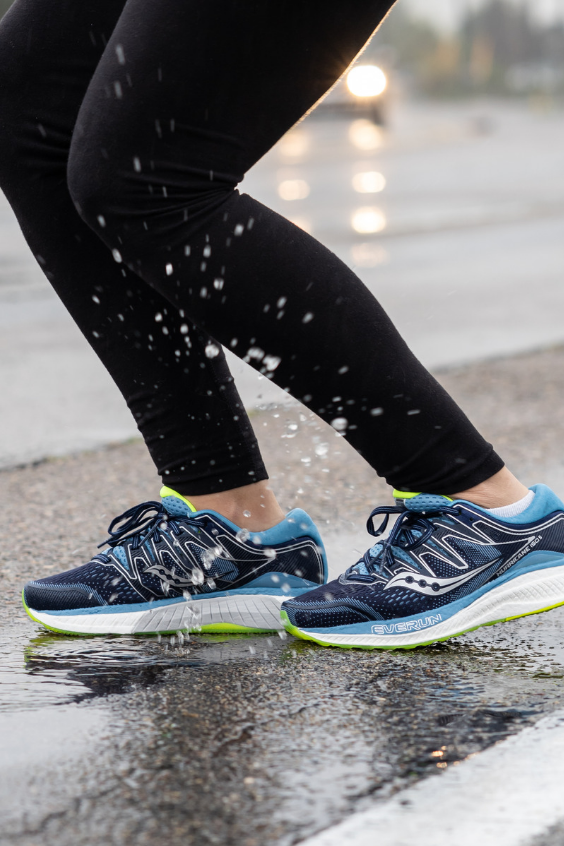 32aa852603a9e Rock your workouts to the tune of cushioned stability in the redesigned  Women s Saucony Hurricane ISO