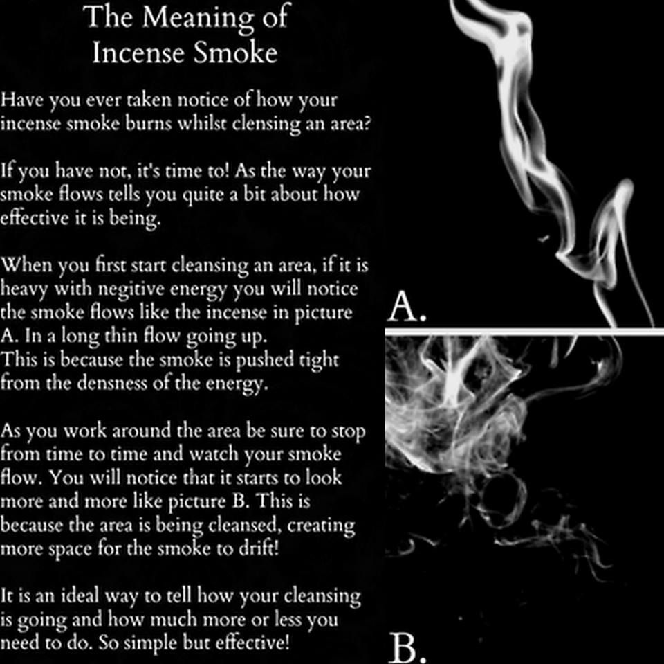 The Meaning of Incense Smoke  From The Pagan Poppet | New Age