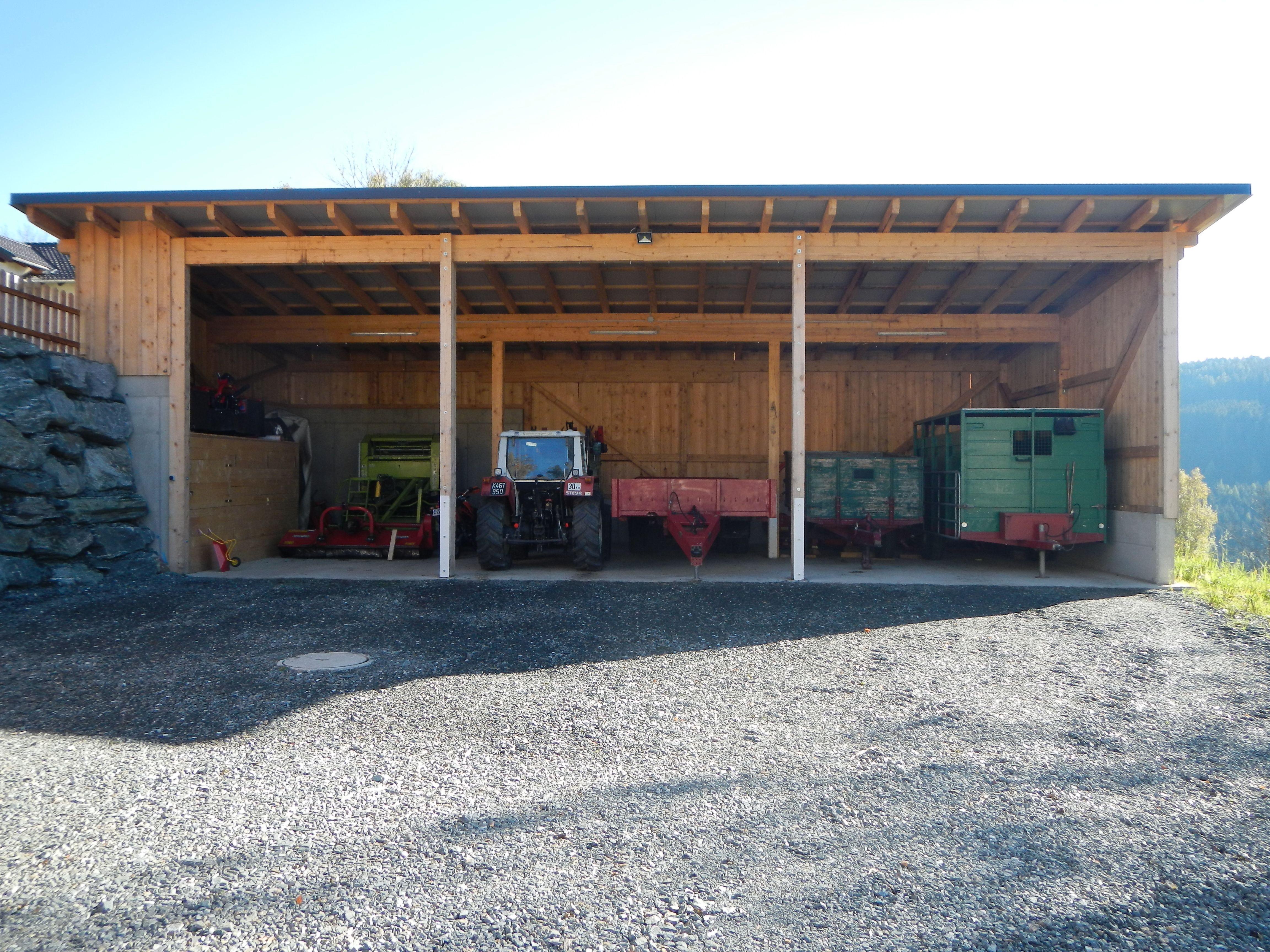 Lieblings Landwirtschaftliche Maschinenhalle Holzbau Schwarzenbacher e.U. @OO_97