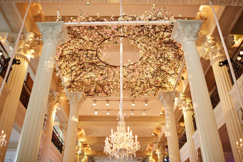 Romantic Wedding Decor: Todd Events ~ Photo: Civic Photos ~ Venue: The Corinthian