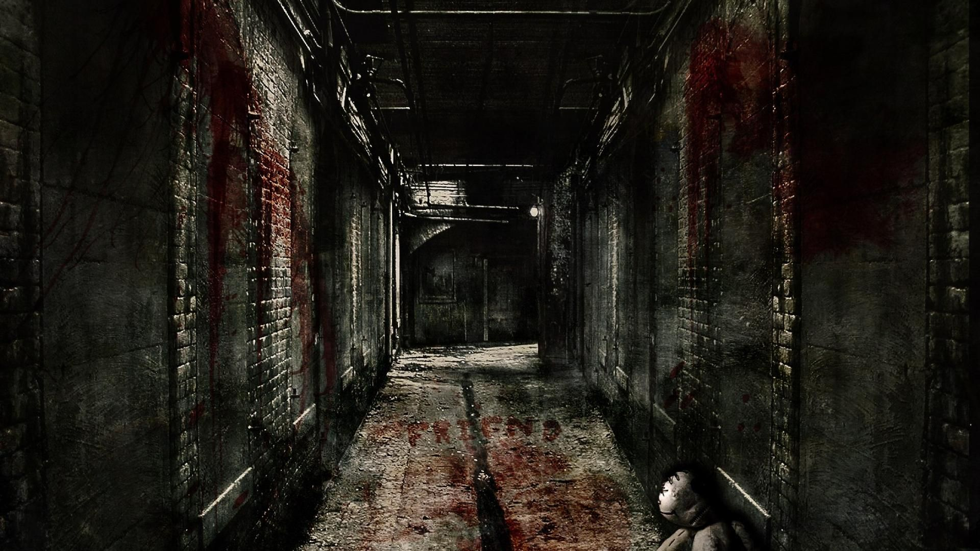 Horror Creepy Hallway Backgrounds Scary wallpaper