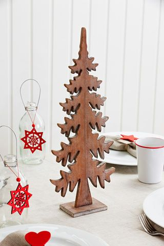 Styled Sealed Delivered \u2014 Timber Standing Christmas tree Christmas