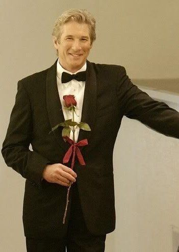 Richard Gere Nothing Like A Man In A Suit With A Rose