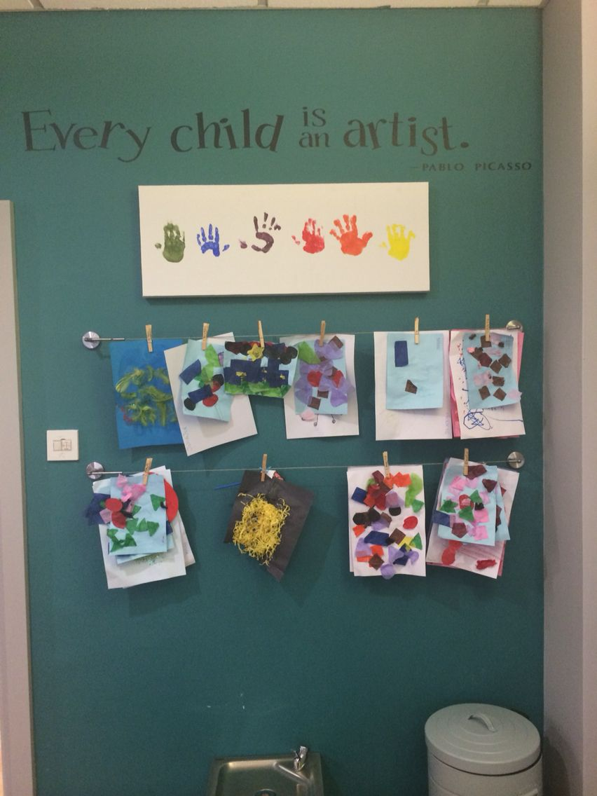 Expressive Arts Classroom Decorations