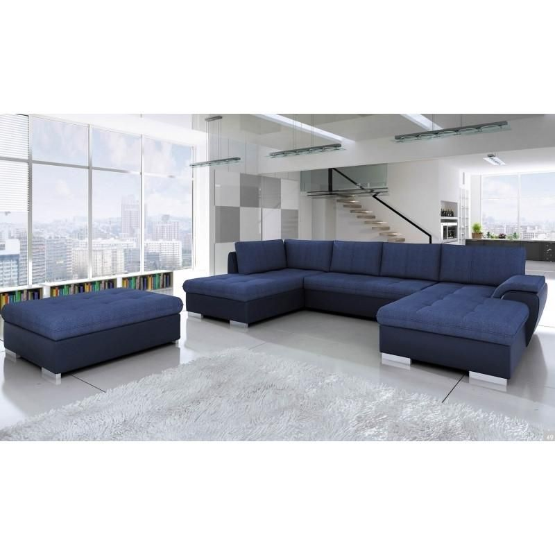 Now 1200 Inc Vat Stunning Corner Sofa Bed Tokyo Maxi With Footstool Built In A Container Modern Living Room Set Corner Sofa Bed Modern Home Furniture