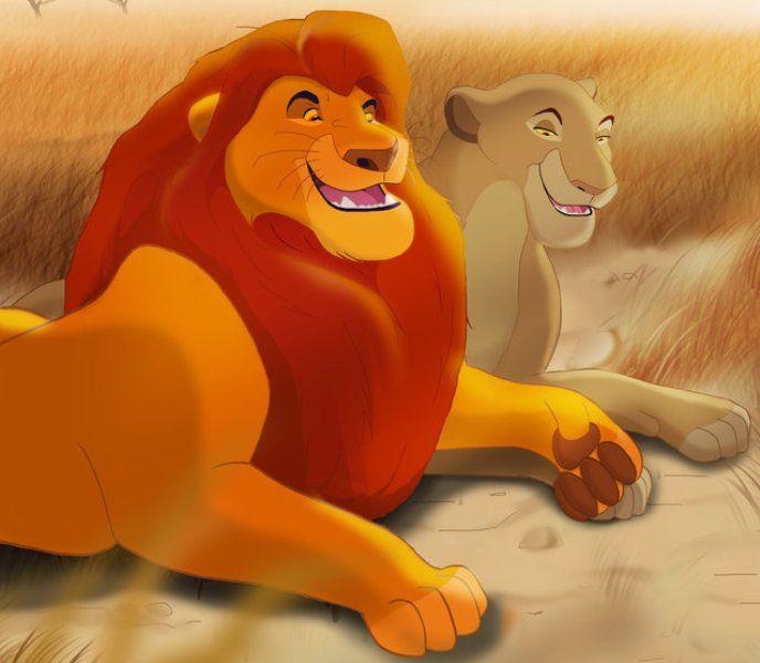 Simba's Father, Mufasa (James Earl Jones) & Simba's Mother