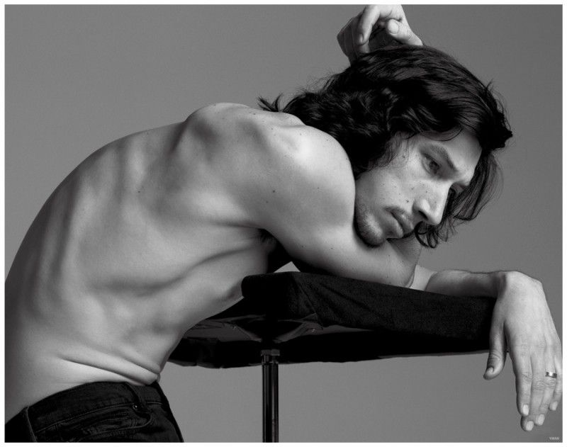 Adam Driver Covers L'Uomo Vogue, Dishes on Fame & Acting