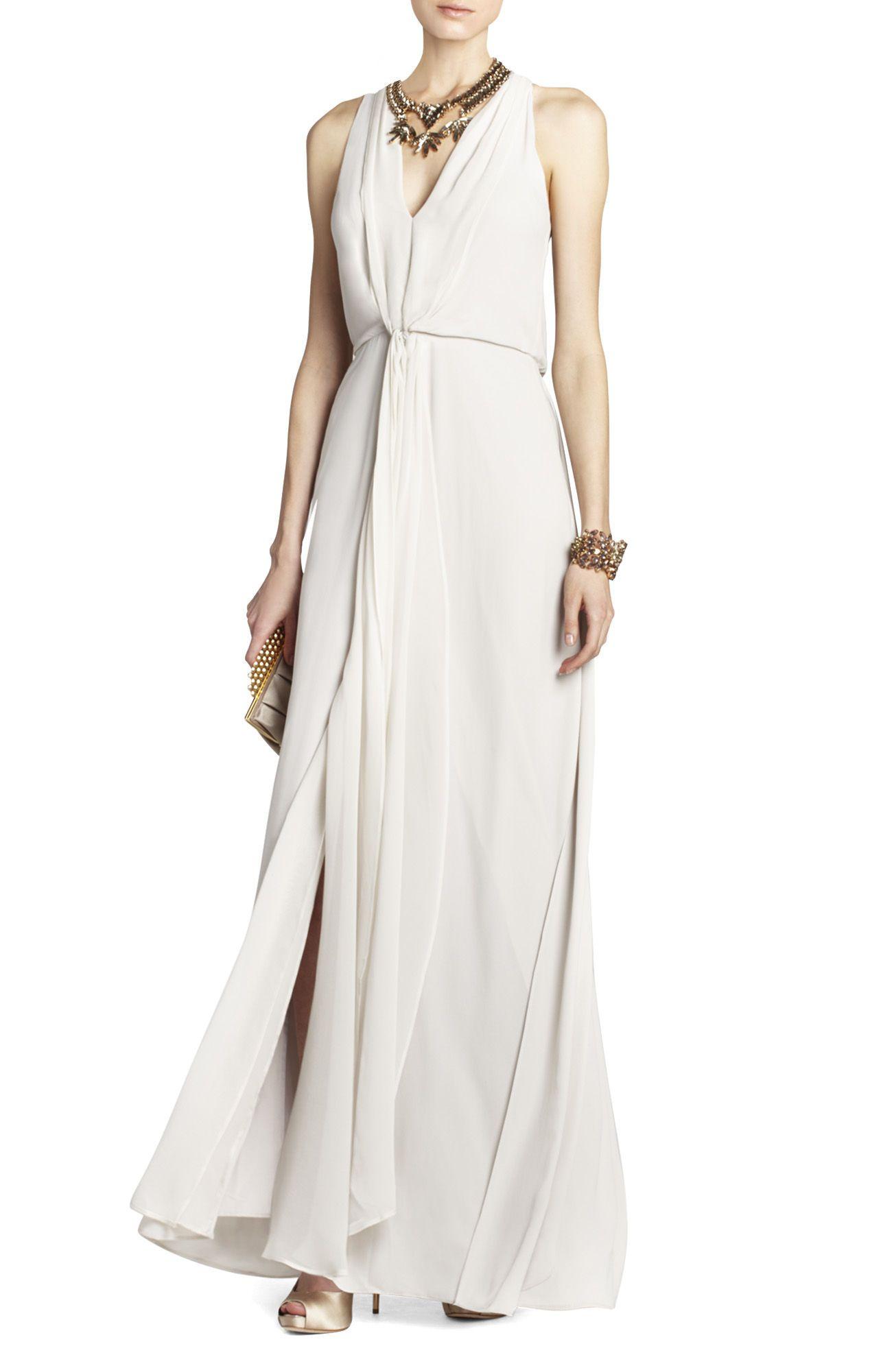 Mara longlength halter dress bcbg usar pinterest wedding