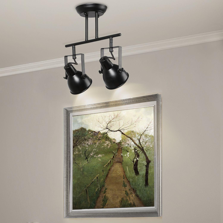 Modern Spot Light 2 Lights Farmhouse track lighting