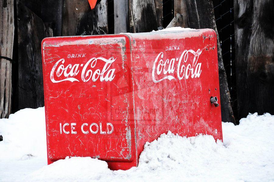 Coke a Cola Ice Chest