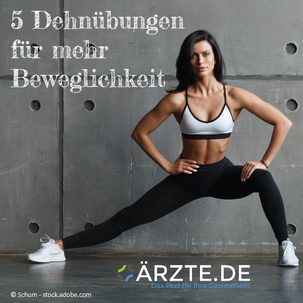 5 Dehnübungen für mehr Beweglichkeit   - Fitness - #Beweglichkeit #Dehnübungen #Fitness #für #mehr
