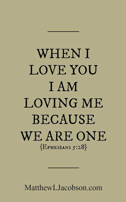 One christian love