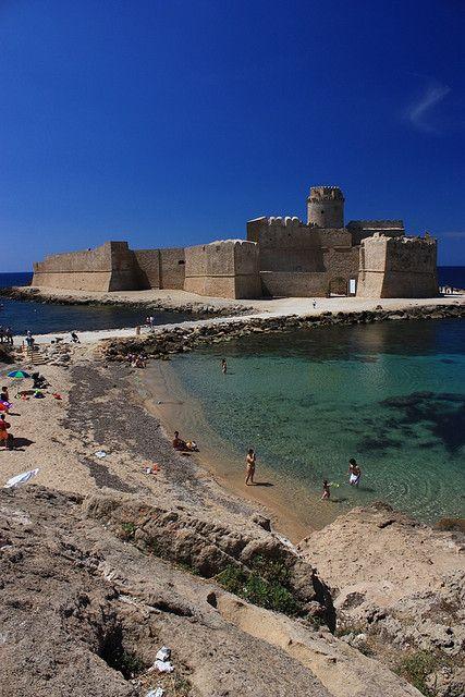 Le Castella, Crotone, Calabria, Italy Paesaggi