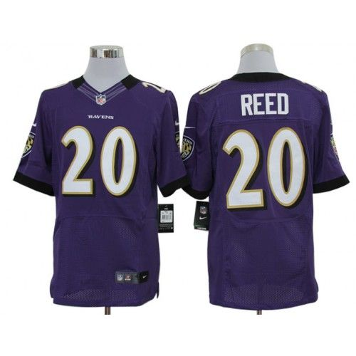 4aff591a discount code for nike baltimore ravens 20 ed reed game youth white ...