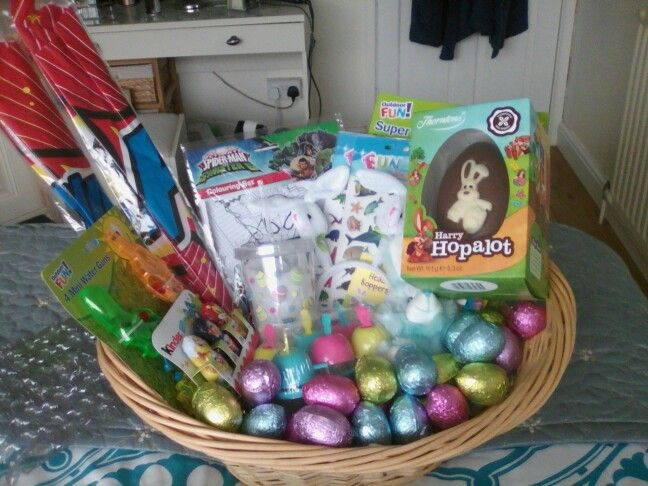 Cheap and easy easter basket for my little boy all from poundland cheap and easy easter basket for my little boy all from poundland and tesco negle Choice Image