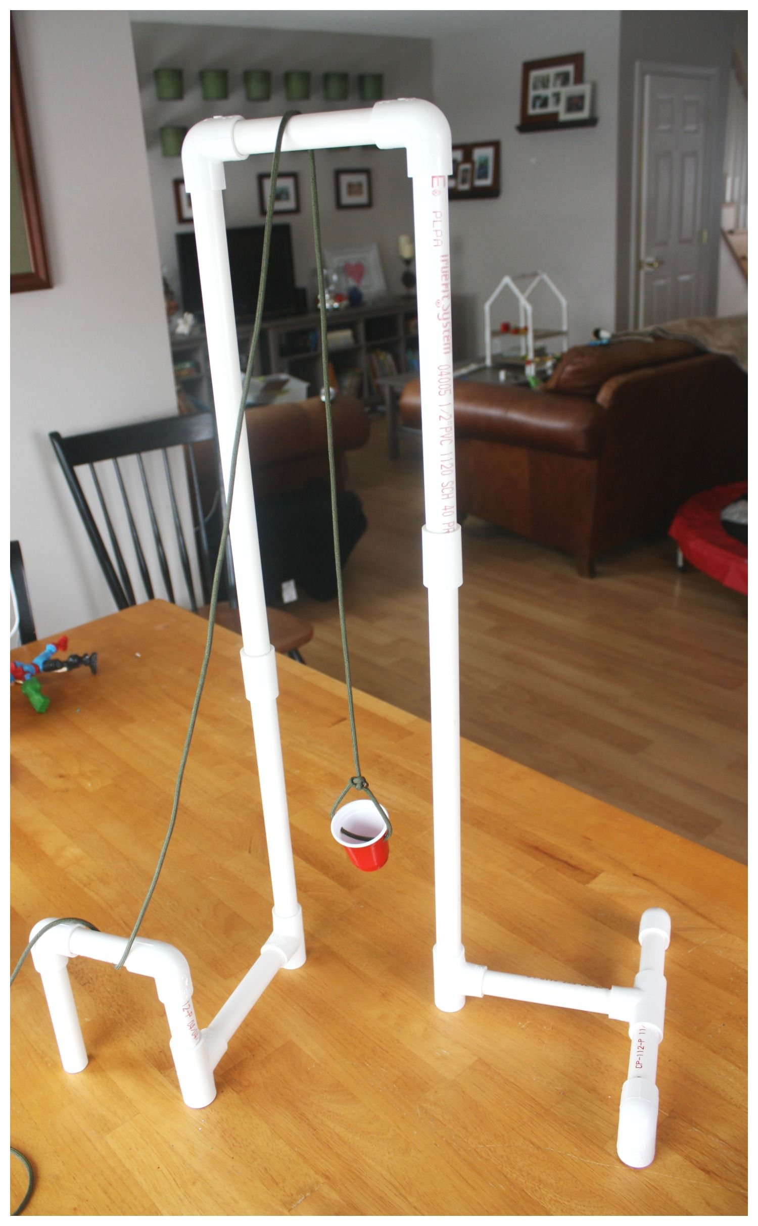 pvc pipe pulley for kids simple machines stem activity