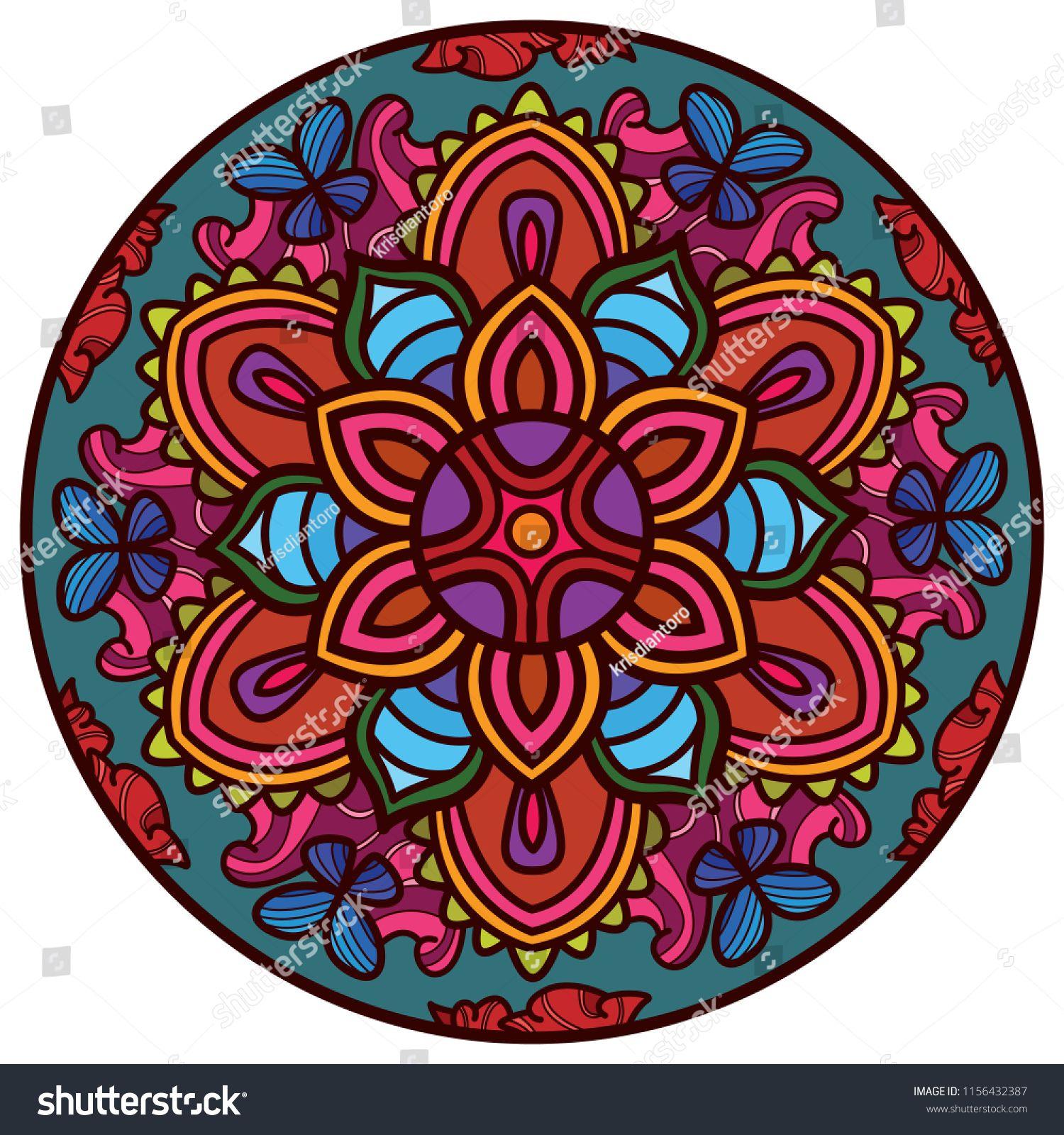 Floral Mandala Art Mandala Art Mandala Design Mandala