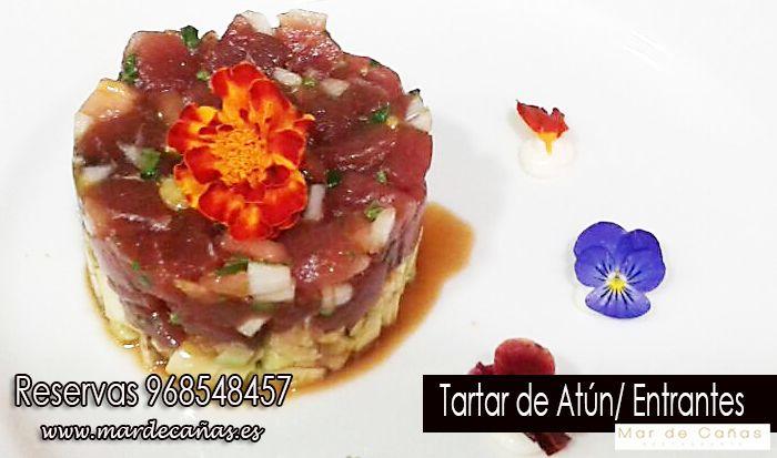 ¿Sabías qué nuestro tartar de atún es uno de los platos más demandado y más recomendado por parte de nuestros clientes? ¿ te animas a venir a probarlo ? Reservas 968548457 o www.mardecañas.es