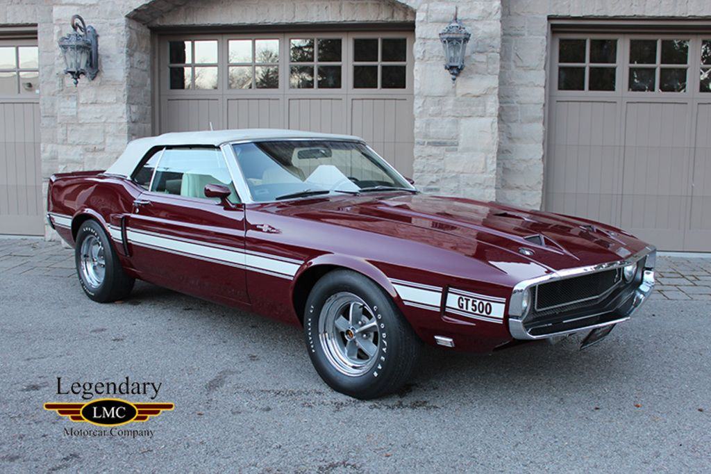 The Only 1969 Maroon 428 Scj 4 Speed Shelby Gt500 Convertible Built Shelby Gt500 Ford Mustang Mustang