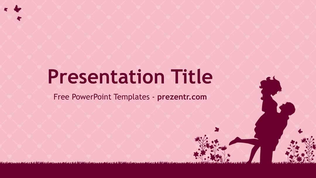 Free Couple Powerpoint Template Prezentr Ppt Templates Powerpoint Templates Templates Powerpoint