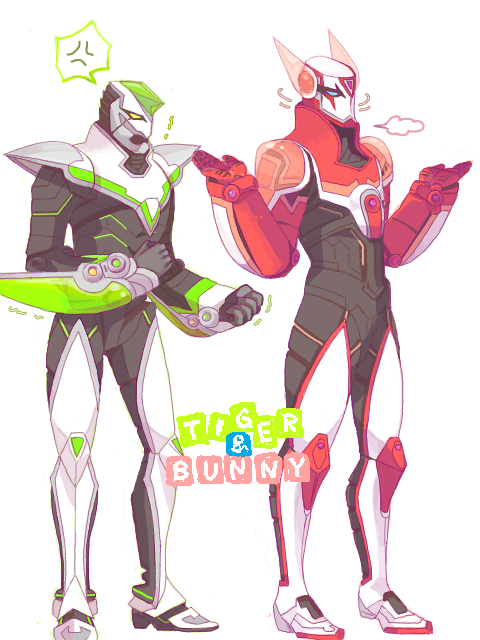 Fuck Yeah Tiger and Bunny ^q^