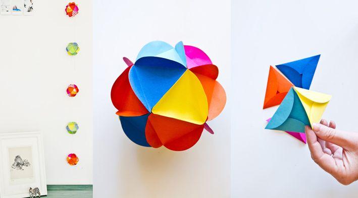 Bola decorativa de papel | Wefreebies http://www.wefreebies.com/bola-decorativa-de-papel/