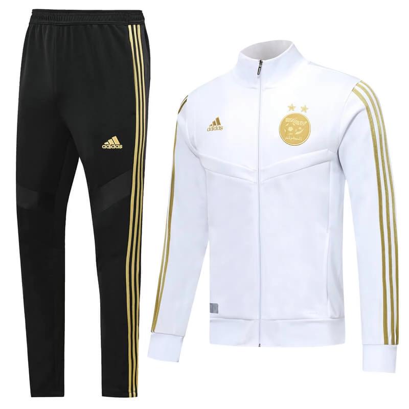 Algeria 1920 White Men Jacket Tracksuit Slim Fit in 2020