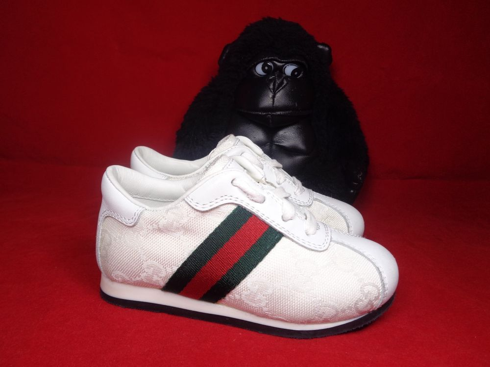 gucci baby walking shoes