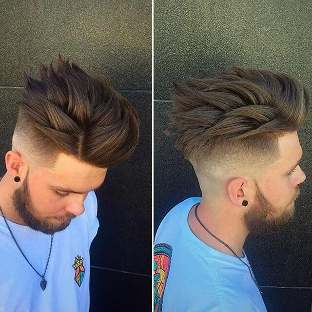 Achieve Amazing Spiky Hairstyles For Men Instructions Guide Hair Styles Short Hair Styles Popular Haircuts