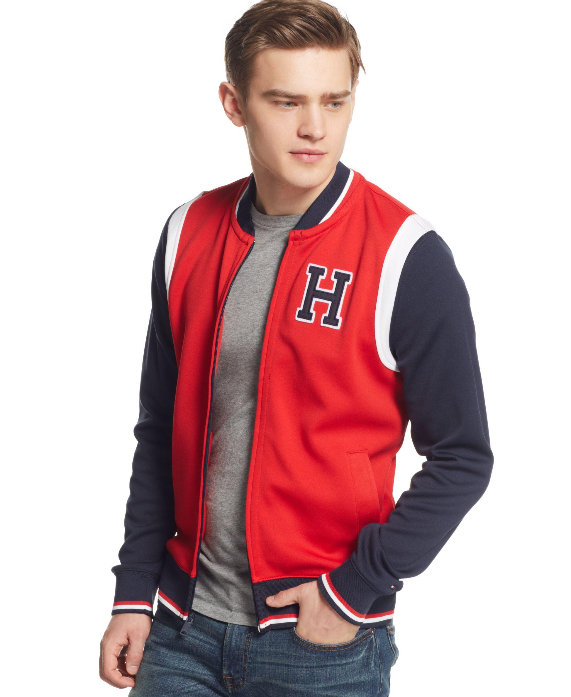 Tommy Hilfiger William Baseball Jacket Coats Jackets Men Macy S Baseball Jacket Jackets Tommy Hilfiger [ 2378 x 1947 Pixel ]