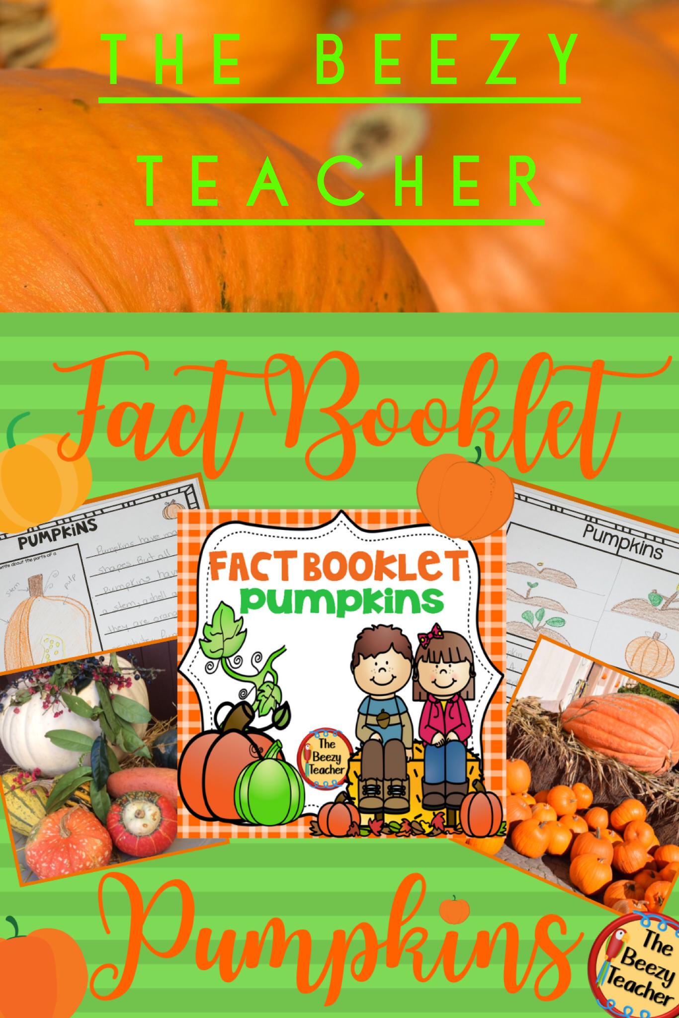 Pumpkins Fact Booklet