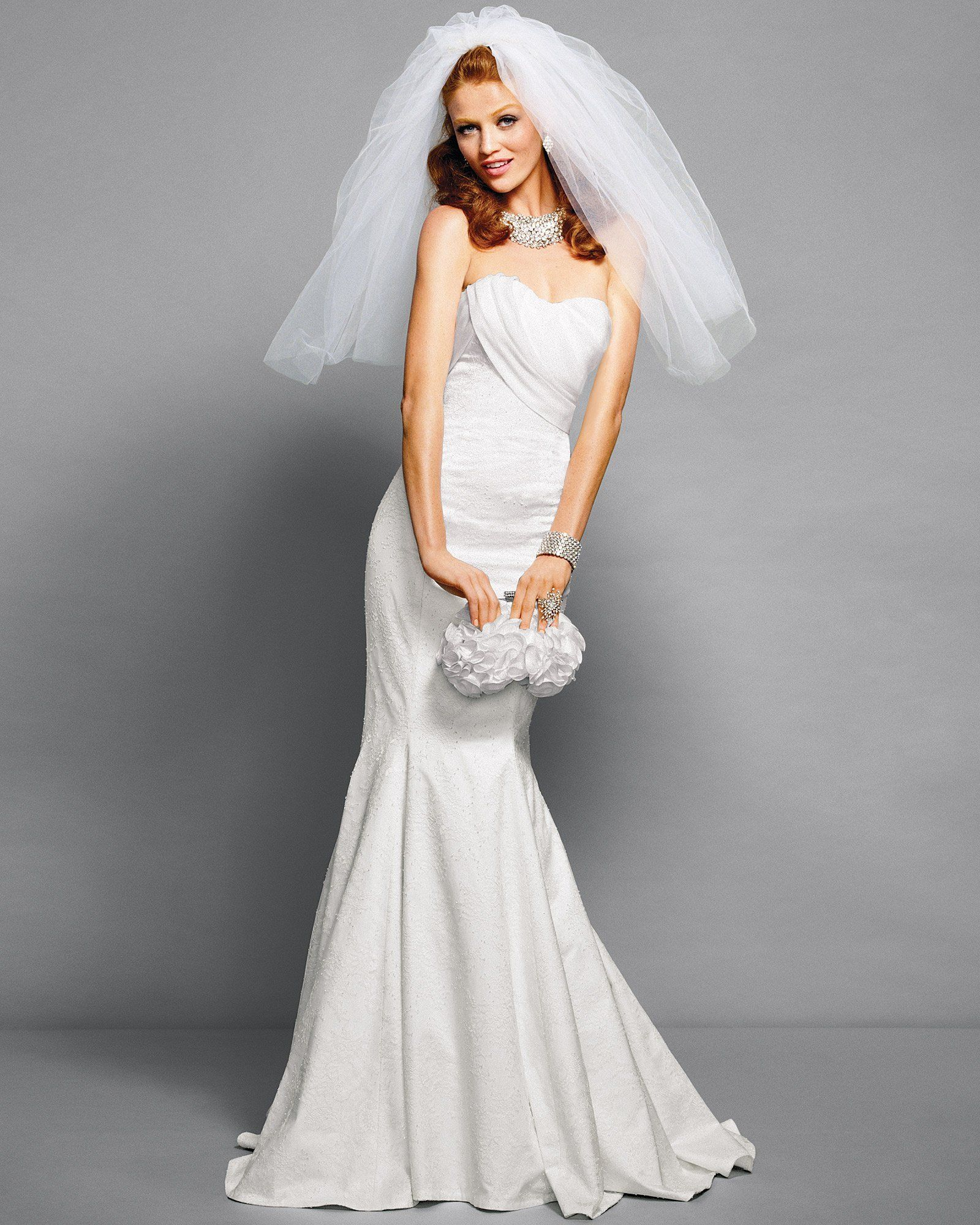 Breathtaking drape top lace mermaid wedding dress designed by rami