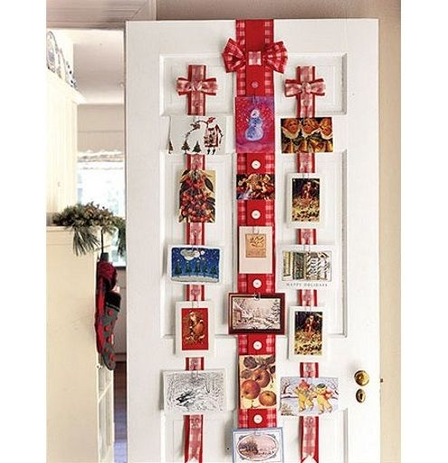 Christmas Card Display - Bob's Blogs