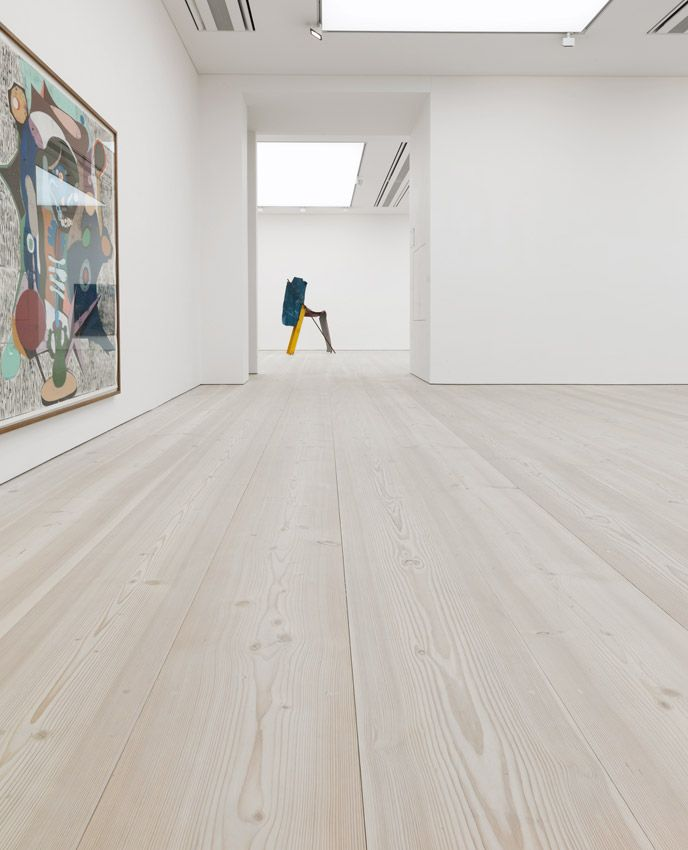 Douglas flooring - Dinesen Dineson Douglas fir plank flooring - known for  its wide long proportions that suit large spaces- they finished it with lye  and a ...