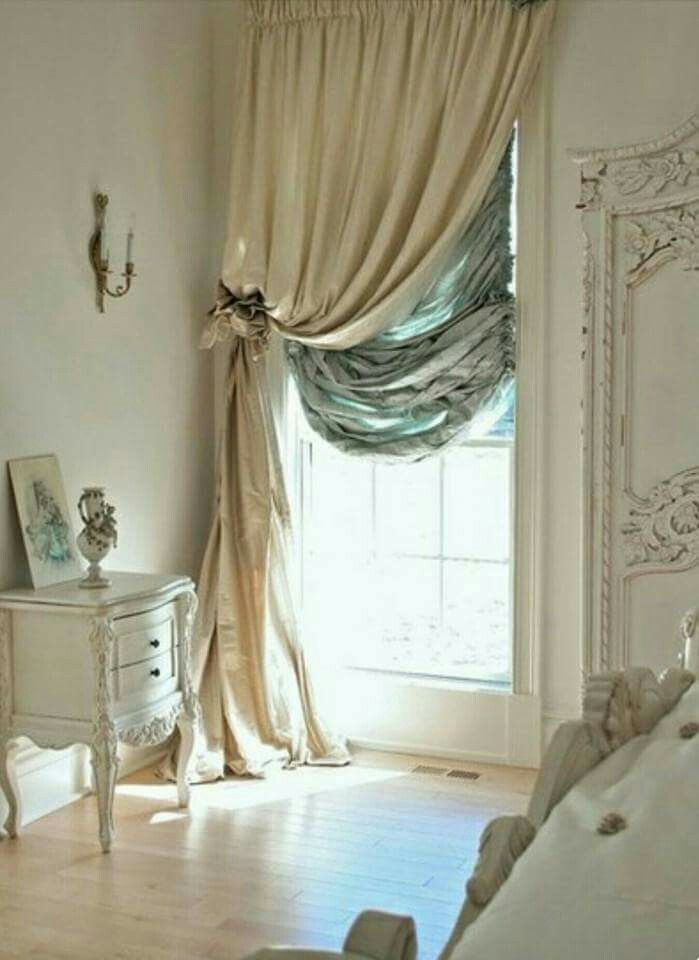 French inspired bedroom window
