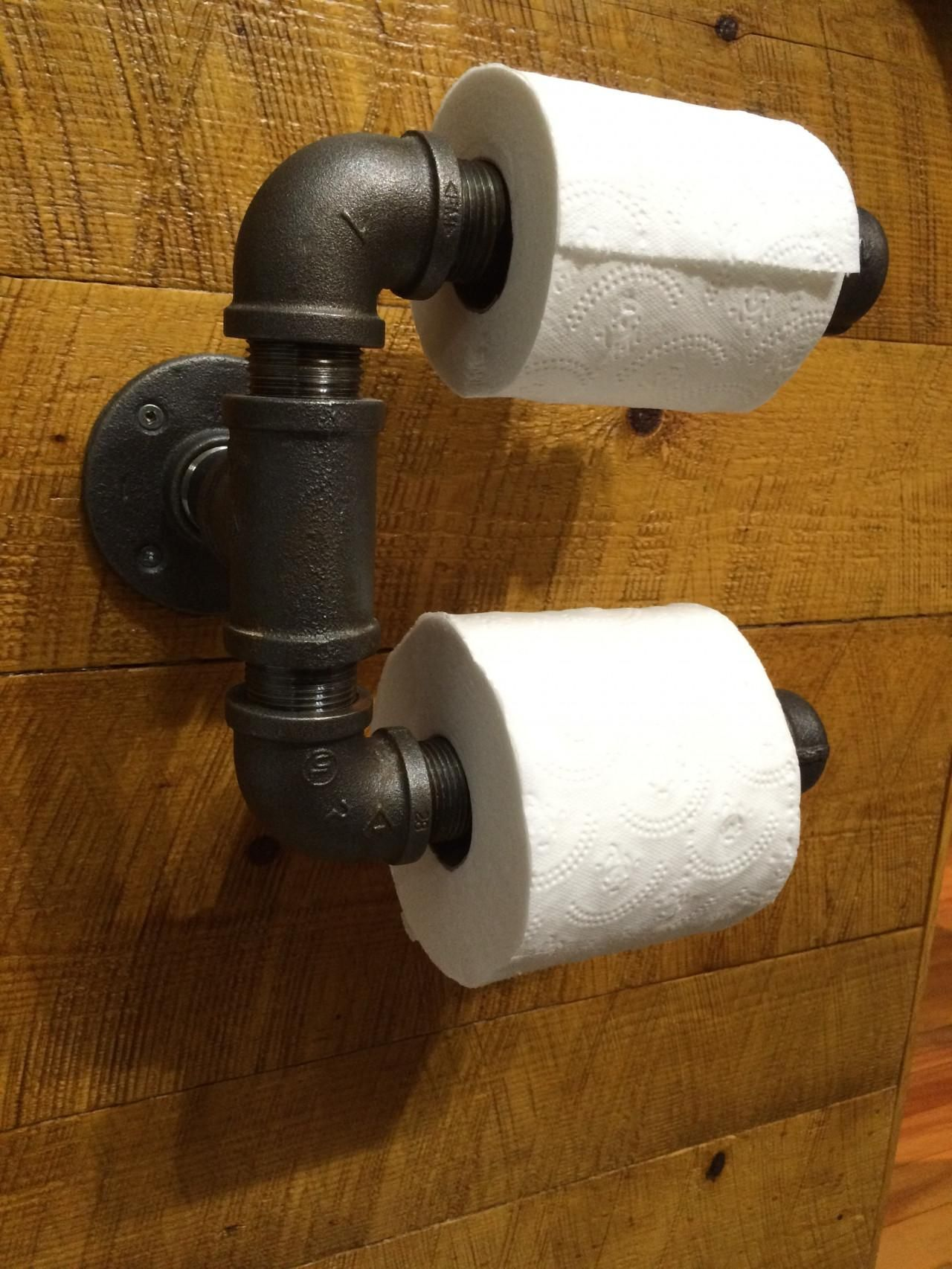 A Toilet Paper Holder May Not Be The Most Glamorous Bathroom