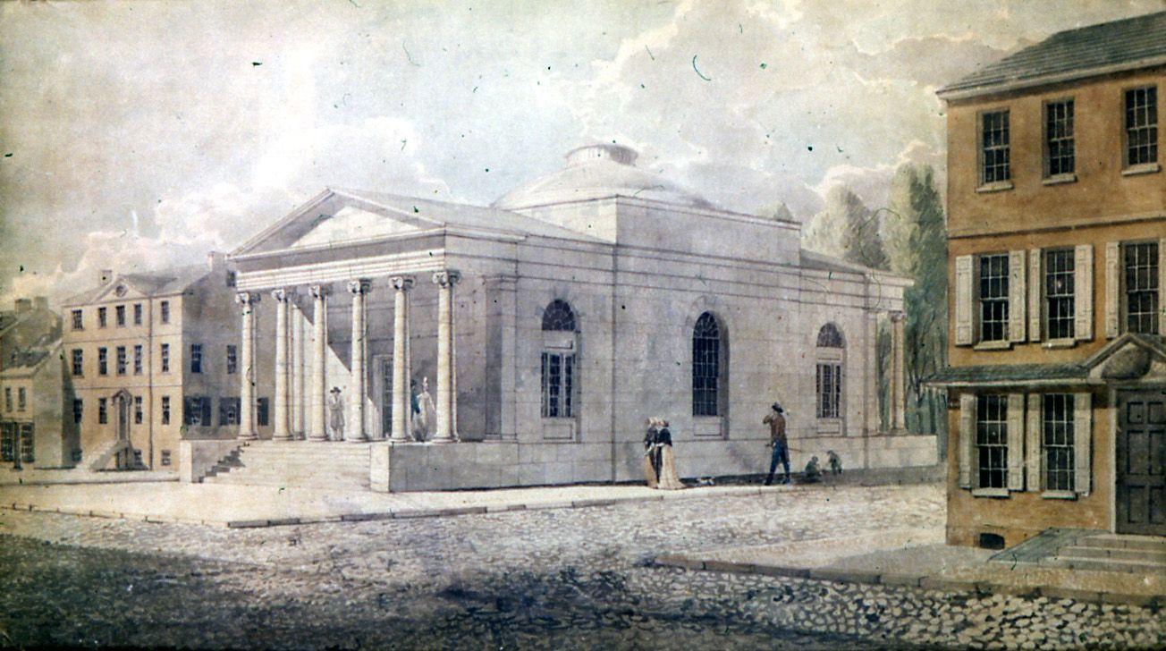 Latrobe Bank Of Pennsylvania 1798 Latrobe Architecture Mapping Bank Of America