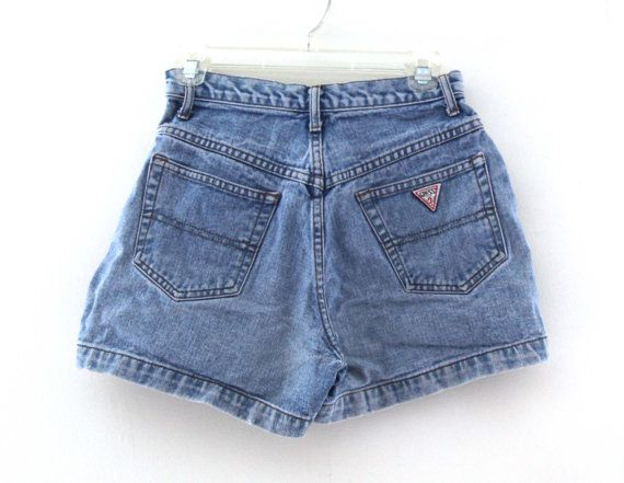 Vintage 80s Guess jean shorts by 2artists216 on Etsy