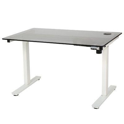 Latitude Run Shepparton Height Adjustable Standing Desk With