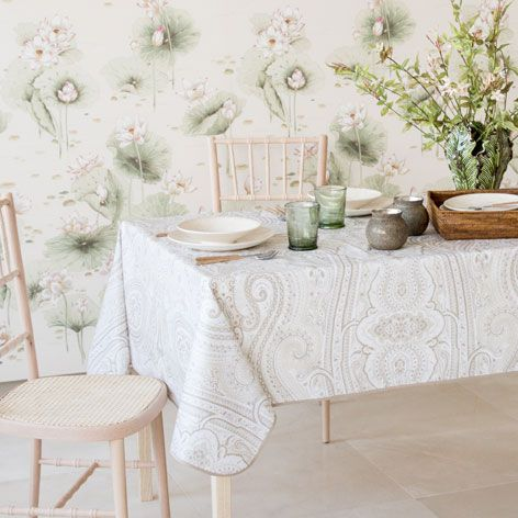 PAISLEY PRINT TABLECLOTH   Tablecloths U0026 Napkins   Tableware | Zara Home  United States