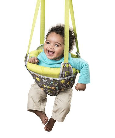 Baby Gear Baby Age 2 Mo-1yr Folds Flat Jumper Merry Muscles Jolly Bounce Doorway Baby Exerciser