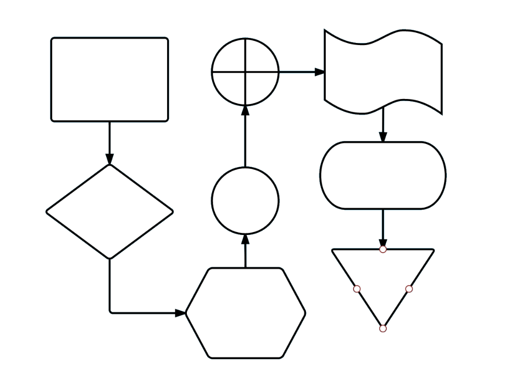 Step-by-step guide on how to make a flowchart directly in