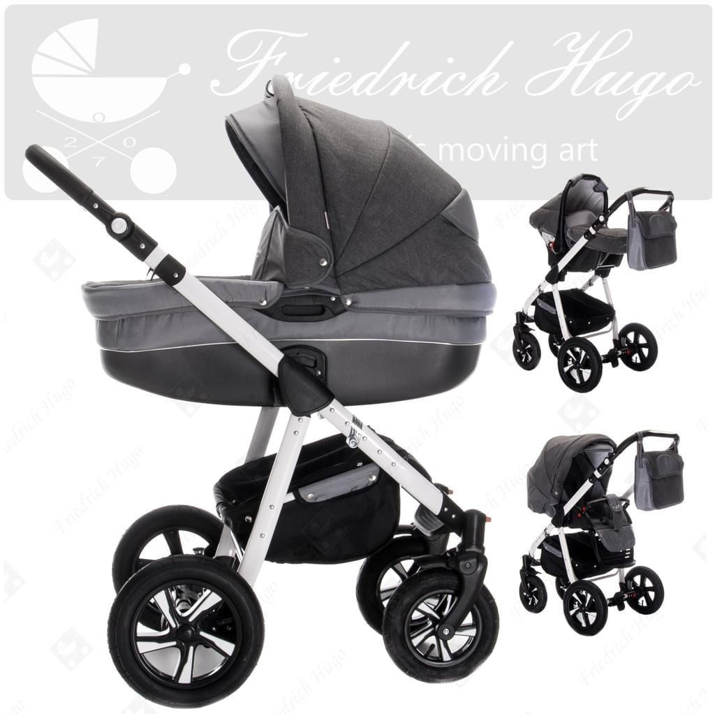 friedrich hugo mandala 3 in 1 kombi kinderwagen. Black Bedroom Furniture Sets. Home Design Ideas