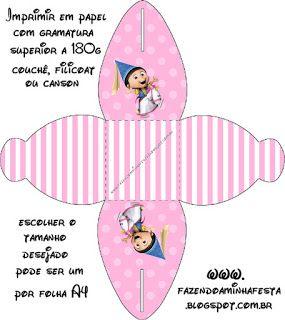 Meu Malvado Favorito Meninas - Kit Completo com molduras para convites, rótulos para guloseimas, lembrancinhas e imagens!