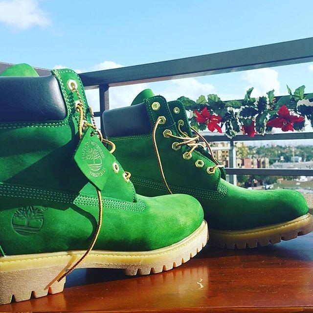 Zapatos verdes Timberland para hombre rwAcNLnZ