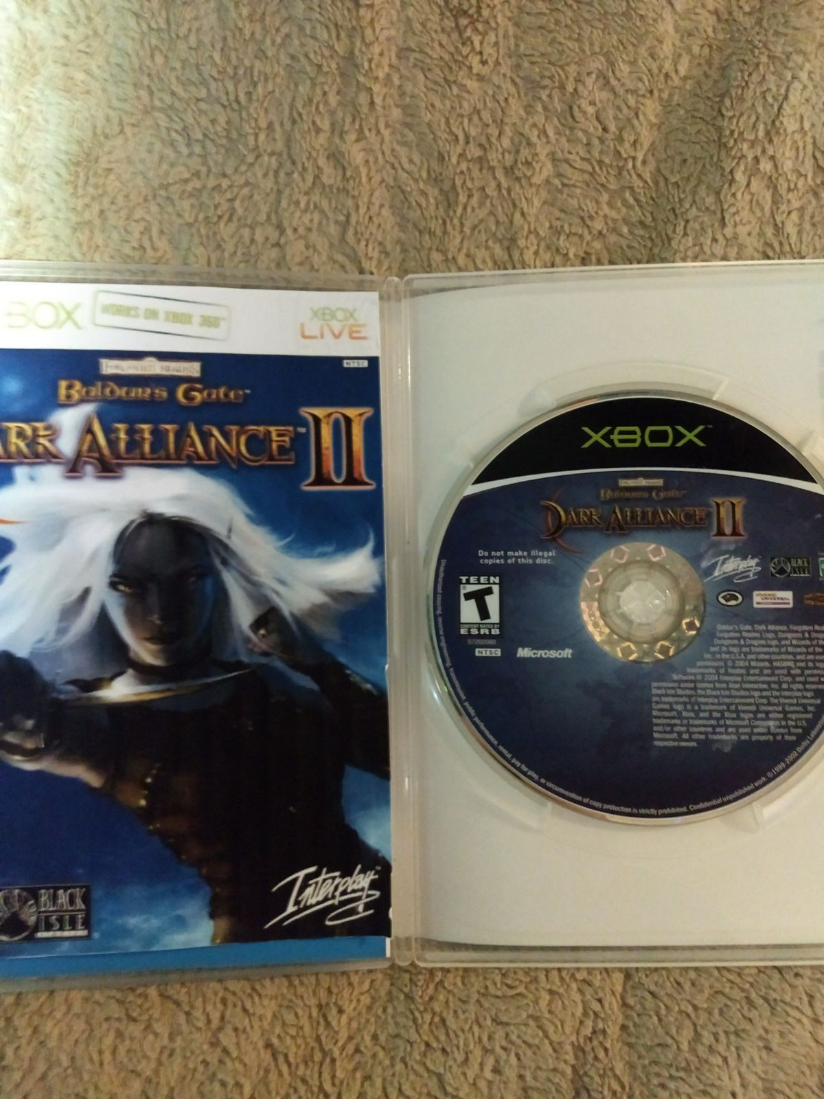 Dark Alliance 2 Game For The Original Xbox And Xbox 360 Game Is